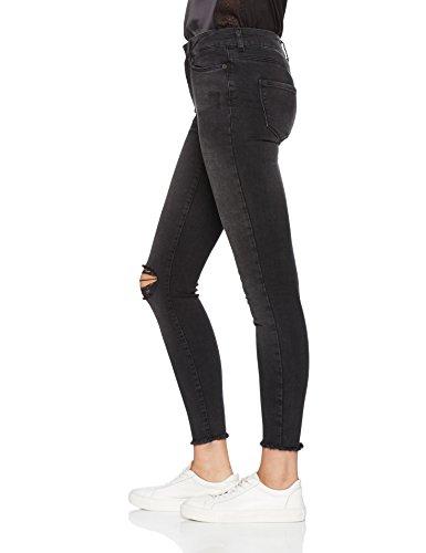 VERO MODA Damen Jeanshose Bleu (Black)