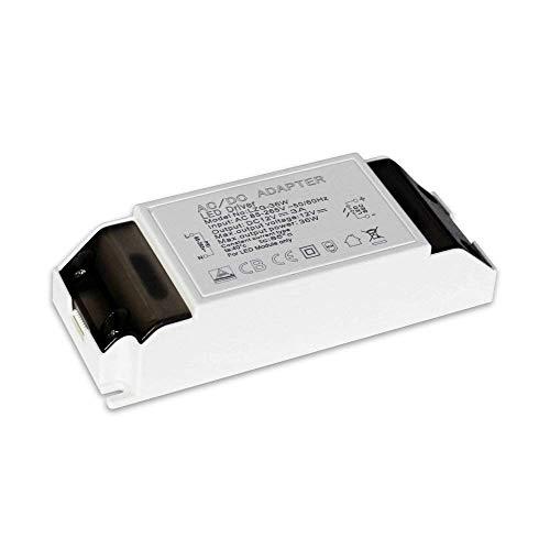 Brolight Netzteil-Treiber-Transformator, 3 A, AC 85~265 V, Ausgang DC 12 V Konstante Spannungsleiste G4, MR11, MR16 LED-Leuchtmittel, 36 W, PC, 36W -