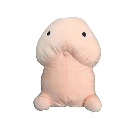, Lustiges Penisform-Plüsch-Plüschpuppe-umarmbares Kissen-Wurfs-Kissen-Streich-Spielzeug 50cm ()