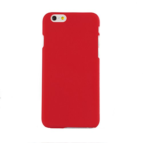 "iProtect Apple iPhone 6 (4,7"") Hülle Hard Case Schutzhülle matt rosa Hardcase Matt Rot"