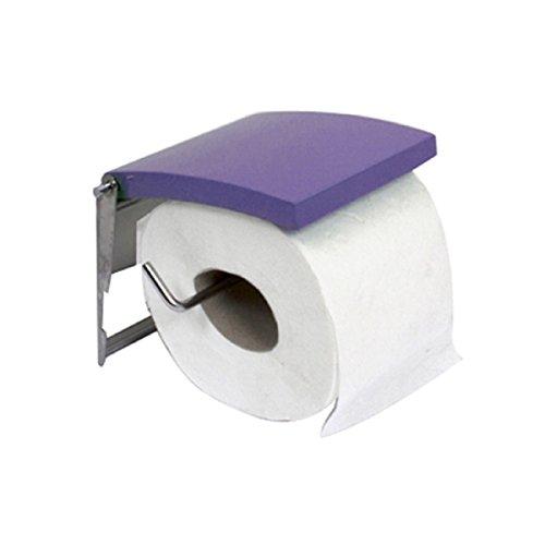 Carpemodo Toilettenpapierhalter, Farbe: Flieder, Größe: 13,5x11,7x2,5cm