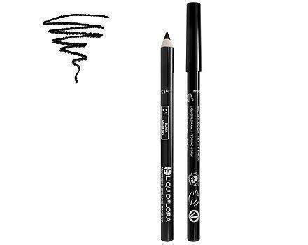 Liquidflora Matita Occhi Biologica 01 Black Shadows Nero Eye Pencil Make Up Bio