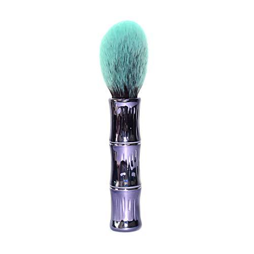 Singolo set di pennelli in polvere di bambù Manico in bambù Set di pennelli in polvere per miele Pennello per trucco Strumenti di bellezza multifunzione