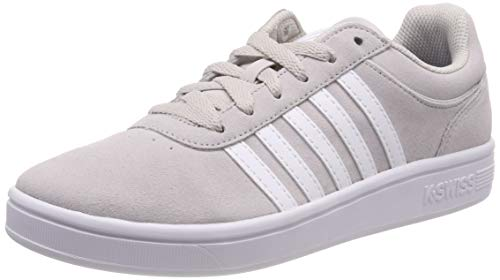K-Swiss Damen Court CHESWICK SDE Sneaker, Grau (Wind Chime/White 162), 39 EU