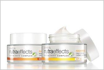 Avon nutraeffects Radiance crema día SPF2050ml