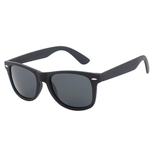 GQUEEN Wayfarer Stil Sonnenbrille mit Polarisierte Gläser GQF0
