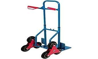 Diable ultra résistant 3roues pour monter trottoirs et escaliers Chariot diable pliant Chariot d'escalade