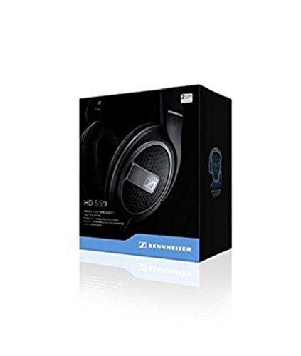 Sennheiser HD 559 Kopfhörer (ohrumschließender, offener) schwarz/anthrazit matt - 8