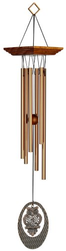 Woodstock Chimes Carillon Motif hibou Portrait habitats Carillon éolien