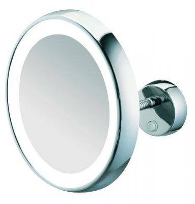 sam Kosmetikspiegel beleuchtet rund konkav 7-fach Flexarm 5503925 chrom, 5503925010
