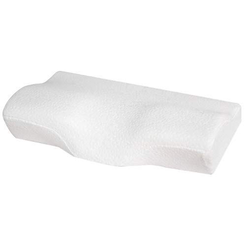 WAWHOM Almohadas - Memory Foam Pillow Plus Funda De Almohada Orthopedic Neck Support Almohada Cervical...