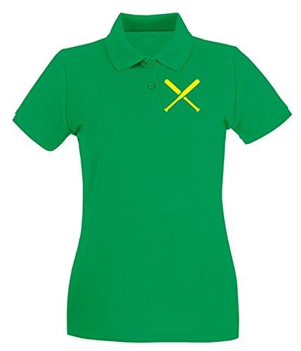 Cotton Island - Polo pour femme SP0136 Two Pitchers Maglietta Vert