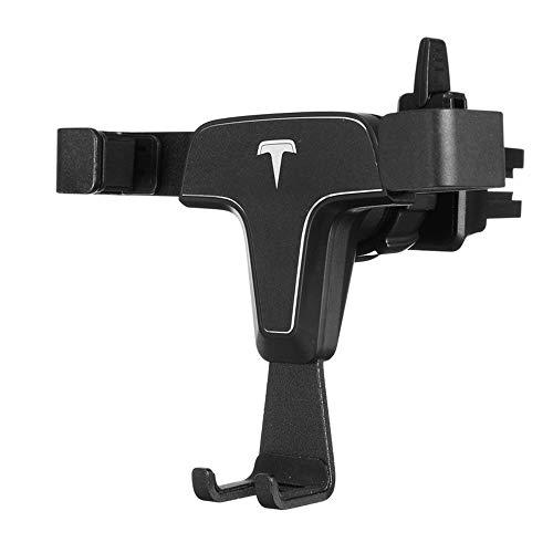 JenNiFer Car Gravity Linkage Air Vent Handyhalter Aluminiumlegierung GPS Universal Stand Halterungen Für iPhone X - Gold