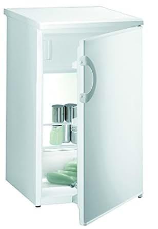 Gorenje rb3091aw Réfrigérateur/Congélateur/A +/184kWh/an/101L Partie/17L Partie Congélateur/encastrable, plan de travail amovible résistant/abtau de refroidissement automatique dans la partie refroidissement/Blanc