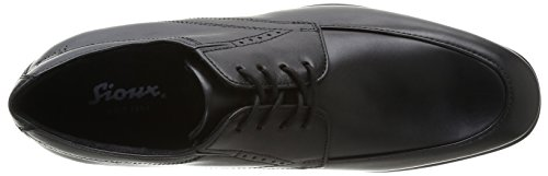 Sioux Abelardo, Chaussures de ville homme Noir