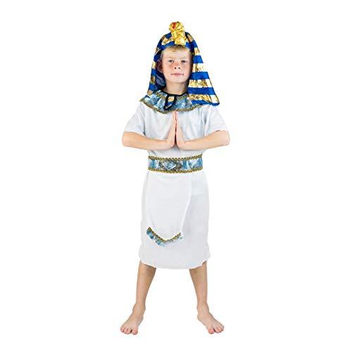 h Pharao Kostüm für Kinder (8-10 Jahre) ()