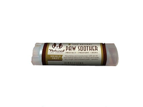 Natural Dog Company – Paw Soother | Dry, Cracked, Irritated Dog Paw Pads | Organic, All-Natural Ingredients, Easy to Apply | .15oz Travel Stick