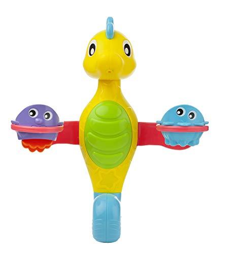 Playgro Badespielzeug Seepferdchen 40188 - Mit Wasserspritz-Funktion - Ab 12 Monaten - Mehrfarbig