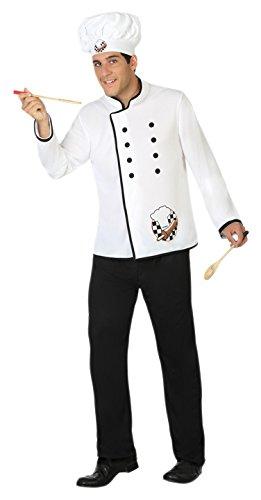 Atosa-31547 Disfraz Hombre Cocinero, XS-S (31547)
