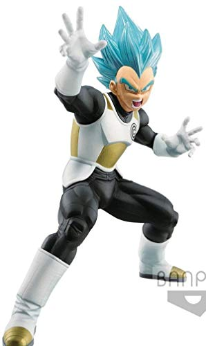 Banpresto. Super Dragon Ball Heroes Figure Vegeta SSJ God SS Vol.2 Figure INMEDIATAMENTE Disponible