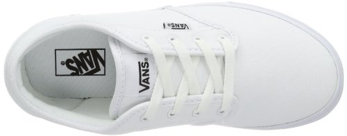 Vans Atwood Unisex-Kinder Sneakers Weiß ((Canvas) white/ / 7HN)