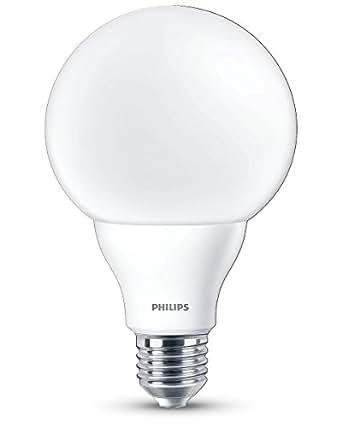 philips ampoule led globe culot e27 9 5w quivalent 60w blanc chaud 2700k d polie. Black Bedroom Furniture Sets. Home Design Ideas