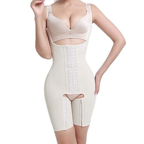 gounure Bauch-Shapewear-Body für Damen mit offener Büste Nahtloser Body Shaper