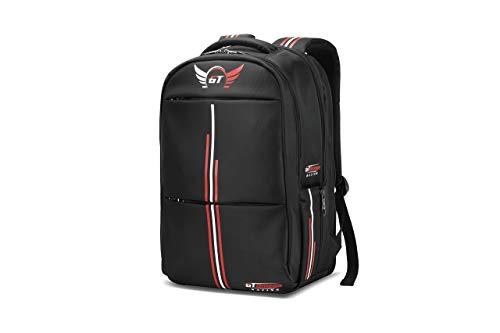 Gaming-Laptop-Rucksack, Geschäft Professional Reise wasserdichte Tasche mit speziellem Diebstahlschutzfach für bis zu 17,3-Zoll-Laptops, hochwertiger Dual-Reißverschluss, halten 40KG, Strike Auflage