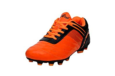 2f826305da9 B-TUF Radiant TPU Football Shoes Studs Unisex (Orange Black)  Buy ...