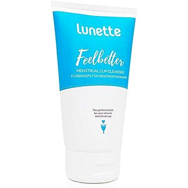 Lunette Feelbetter – Jabón líquido para copa menstrual (150 ...