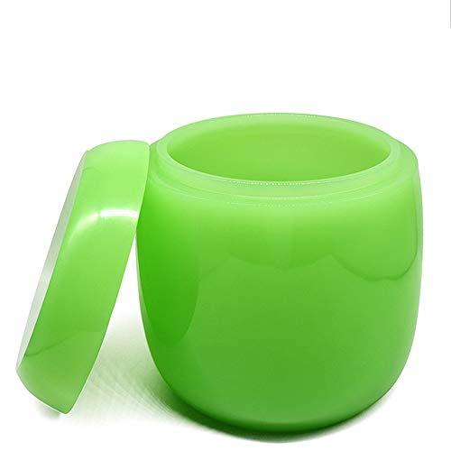 Urne Medaillon,Asche, Aschengläser Bestattungsbedarf Aschenurnen Keramik-Urnengläser Hochwertige, feuchtigkeitsbeständige Aschengläser Trichter FüLlen-Kit Inklusive (Color : Green) -
