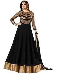 Drashti Villa New Suits For Women Indo-Western Red Party Wedding Wear Floor Length Gown/ Anarkali Suit/ Salwar...