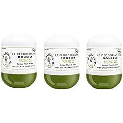 La Provençale - Le Déodorant Douceur Senteur Fleurs de Grasse - Déodorant 24h - Certifié Bio - Huile d'Olive Bio AOC Provence - Frabriqué en France - Lot de 3