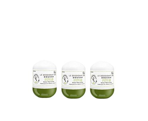 La Procençale Le Déodorant Douceur senteur Fleurs de Grasse 50 ml - Lot de 3