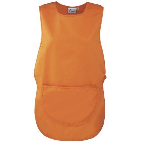 Premier Damen Arbeitsschürze mit Tasche (Small) (Orange)