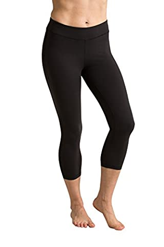 Mountain Warehouse Capri Leggings Stretch 3/4 Opaque Respirant Noir 36
