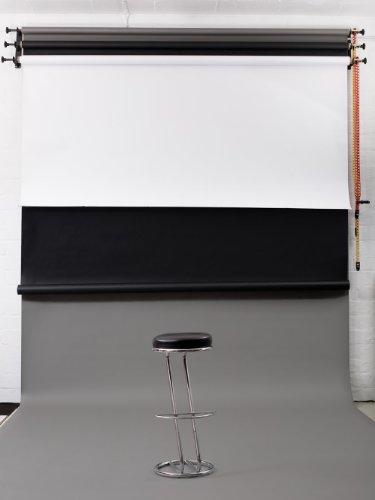 Studiohintergrund Tiefschwarz Schwarz Papierhintergrund 2.72m x 11m