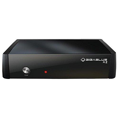 GigaBlue HD X2con Single DVB-C/T2(H.265) sintonizador Full HDTV Twin Receptor