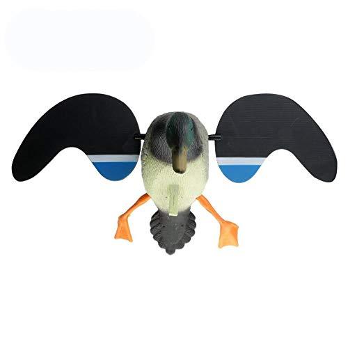 Wuyan Jagd Ente Lockvogel Elektrische Fliegende Ente Lockvogel Fernbedienung Männliche Ente für Outdoor Kajak Kanu Angeln Zubehör 1 stücke, weibliche Ente -