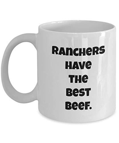 FloradeSweet Viehz¨¹chter haben das Beste Rindfleisch lustige Kaffeetasse sarkastisch Becher Rancher Rinderh?hne gro?en Schwanz (Rindfleisch Schwänze)