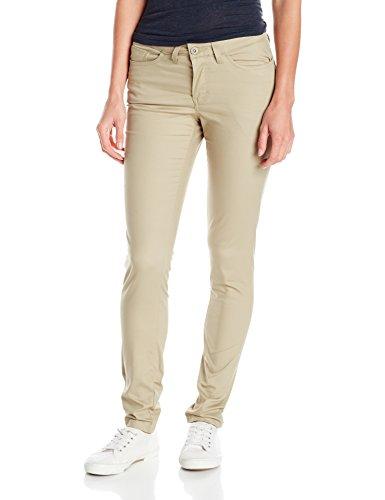 Dickies - - FP213 Frauen dünne dünne 5-Pocket-Stretch-Twill-Hose, 8, Desert Sand (Dickies-stretch-twill)