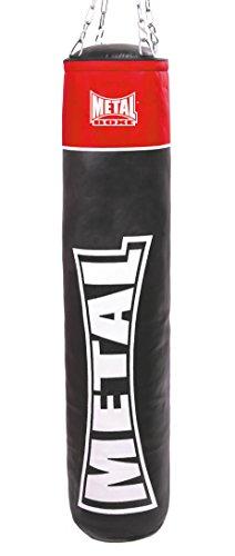 Metal Boxe mb311nv Sacco da boxe Unisex, unisex, MB311NV, Nero, 35 kg