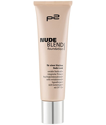 p2 cosmetics Nude Blend Foundation 030, 3er Pack (3 x 30 ml)