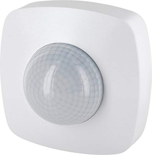 Aufputz Infrarot Bewegungsmelder 360° 230V - mit Dämmerungssensor - Reichweite 20m - LED geeignet ab 1W-2000W -