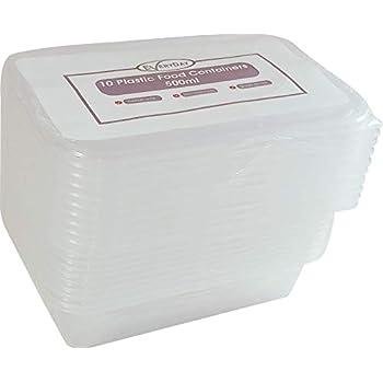 Gsl 10 X Small 500ml Reusable Microwave Freezer Safe