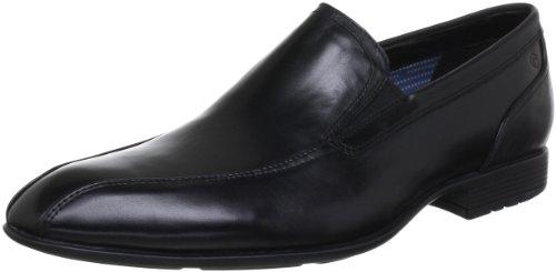 Rockport Dialed In Slip On, Chaussures de ville homme Noir (Black)