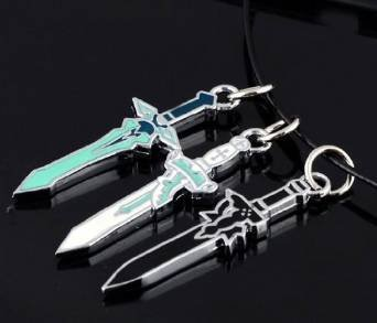 Sword Art Online - Colgante de espada Dark Repulser