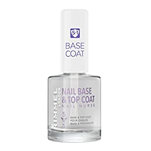Rimmel London Nail Nurse Base & Top Coat 5 en 1 Tratamiento para uñas Tono 5 en 1 – 12 ml