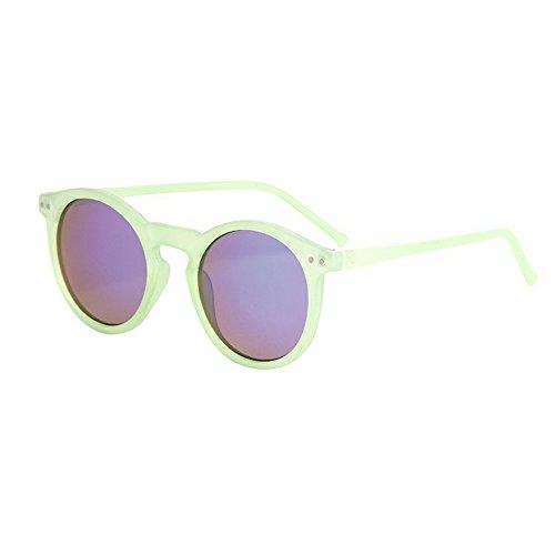 14fa8bf34df487 YWLINK Mode Klassisch Damen Herren Polarisierte Sonnenbrille Strand Urlaub  Retro Multicolor Katzenauge Brille