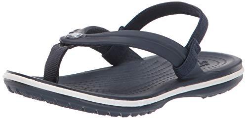 Crocs Unisex-Kinder Crocband Strap Flip Zehentrenner, Blau (Navy 410), 30/31 EU